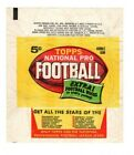 1962 Wrapper Topps Football, 5 Cents, Excellent