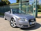LARGER PHOTOS: 2007 AUDI A4 2.0 TDI 140 SPORT CABRIOLET CONVERTIBLE