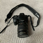 CANON digital camera EOS Rebel XTI & EF 28-135mm f/3.5-5.6 IS USM lens & Charger