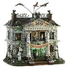 Lemax Halloween ~ Dead Fraternity Village Building ~ Spooky Town