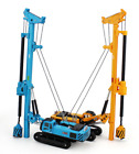 164 Alloy Rotary Drilling Rig Crawler Excavator Diecast Construction Vehicle