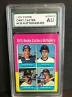 GARY CARTER 1975 Topps ROOKIE Autograph #620 SPA Certified Authentic RC Auto