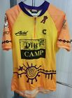 Dirt Camp Cycling Bike Jersey Cannondale Polartec Mens Large Avid Racing Syncros