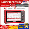 LAUNCH OBD2 Scanner CRP909X 15 Reset Functions Diagnostic Tool All System Diesel