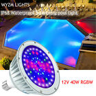 Color Changing Swimming Pool Lights Bulb LED Light 12V 40W for Pentair Hayward