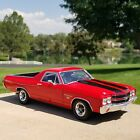 118  Welly  1970 CHEVROLET EL CAMINO SS 396  Red Black  MINT  Beautiful