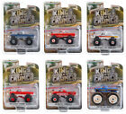 KINGS OF CRUNCH SERIES 7 SET OF 6 MONSTER TRUCKS 1 64 DIECAST GREENLIGHT 49070