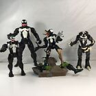 Lot of 4 Venom Action Figures Marvel Toy Biz Hasbro Collectables and Rares