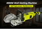 Electric Cutting Machine Wall Chaser Groove Slotting Steel Concrete 220v Durable