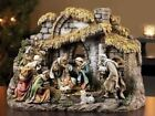 Joseph Studio 10 piece 11 Inch Nativity with Stable 6 Inch Scale
