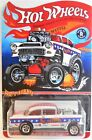 HOT WHEELS 55 CHEVY BEL AIR GASSER THE PATRIOT CUSTOM