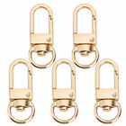 10pcs Swivel Lobster Claw Clasps Metal Trigger Snap Hooks Keychain Buckle Diy Us