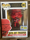 Funko Pop! Star Wars Sith Jet Trooper #383 SDCC 2020 Exclusive Official Sticker