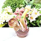8 RED GREEN CAP MUSHROOM TOBACCO GLASS PIPE SMOKING HAND PIPES GIFT