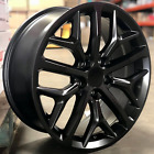 18 Wheels Satin Black Fit Honda Accord Civic Prelude CRV 5x1143 SI Style Rims
