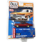 AUTOWORLD CP7659 LOW RIDERS 1966 CHEVY IMPALA SS HARD TOP 1 64 RED Chase