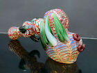 75 Collectible Art HAMMER BUBBLER Thick Glass Handmade Tobacco Smoking Pipe