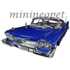 MOTORMAX 79011 1958 PLYMOUTH FURY CUSTOM 1 18 DIECAST MODEL CAR BLUE