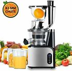 Slow Masticating Juicer Wide Chute Juice Extractor Cold Press Juicer BPA Free
