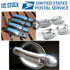 Door Handle Covers + Bowls Chrome For 2007 2008 2009 2010 Chevrolet Aveo