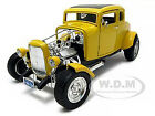 1932 FORD COUPE HOT ROD YELLOW 1 18 DIECAST MODEL CAR BY MOTORMAX 73172