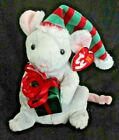 Ty Beanie Baby Tiny Tim the Mouse DOB December 25, 2004 MWMT Free Shipping