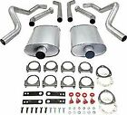 Jegs 30526 Header-back Dual 2-12 In. Exhaust Kit 1973-1977 Chevelle