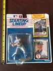 STARTING LINEUP figurine cards pkg 1990 robin yount Kenner rookie Milwaukee MLB