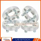 4 1 25mm Wheel Spacers Adapters 4x108 to 4x100 For Ford Escort Ford Mustang