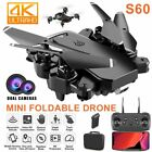 DRONE X pro 24G Selfie WIFI FPV 4K HD Dual Camera Foldable Remote RC Quadcopter