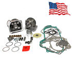 50mm Bore Performance Big Bore Cylinder Kit 100cc 50cc GY6 Motorcycle Scooter US