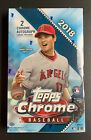 (1) 2018 Topps Chrome HOBBY BOX Factory Sealed-Look for 2 Autos Per Box!