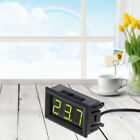 12v Car Mini Digital Led Thermometer Temperature Monitor Panel Meter With Probe