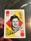 RALPH KINER AUTO 1997 TOPPS STARS signed autograph HOF 1951 Red back retro style