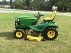 Nice John Deere X585 4X4 Tractor with Only 1328 Hours