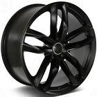 19 BLACK WHEELS FITS AUDI A4 A8 Q3 Q5 VW PHAETON CC 19X85 +35 5X112 SET 4