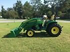 Very Nice John Deere 3520 4X4 Loader Tractor with Only 370 Hours