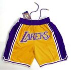 Los Angeles Lakers Vintage Retro Gold Just Don Summer League Basketball Shorts