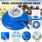 145 Round Swimming Pool Vacuum Cleaner Brush Head Tool Tub Fountain Spa Clean