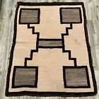 Antique Navajo Rug Handmade Native American Rug 34 X 44