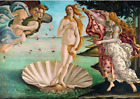 Puzzle Jigsaw 1000 Pieces eco cardboard The birth of Venus Botticelli art gift