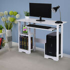 Wood Computer Desk Pc Laptop Table Study Workstation Home Office Furniture Table