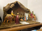 nativity set vintage