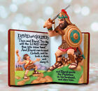 Hallmark David and Goliath Favorite Bible Stories Christmas Ornament 1999
