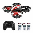 Holy Stone HS210 Mini Drone RC Nano Quadcopter Best Kids Red Gift Auto Plane Toy