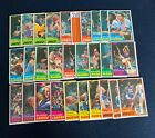 1981-82 TOPPS BASKETBALL WEST #67-110 42 44 CARD NEAR COMPLETE SET SHARP