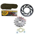 420 Chain Front Rear Sprocket 50cc 125cc Dirt Bikes ATV Quad Go Kart CRF50 70
