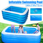 Children Inflatable Swimming Pool Large Family Summer Outdoor Play Pool Kids US
