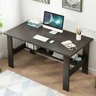 Small Computer Table Modern Desk Home Office Study Writing Table Desk Wshelf Us