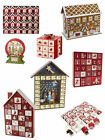 Heaven Sends Tradtitional Wooden Christmas Advent Calendar Nativity Gingerbread